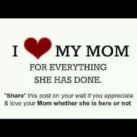 Jeg elsker min mor