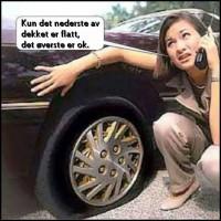 Fladt dæk