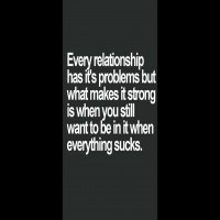 Every Relationship has it problem