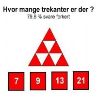 Hvor mange trekanter